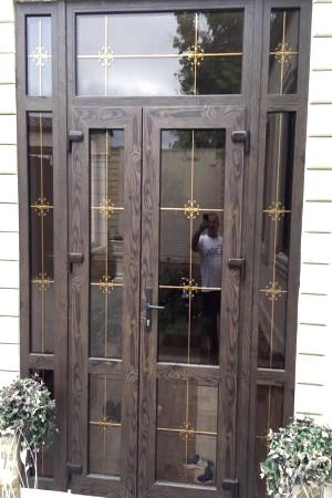 вхідні металопластикові двері івано-франківськ ціна4