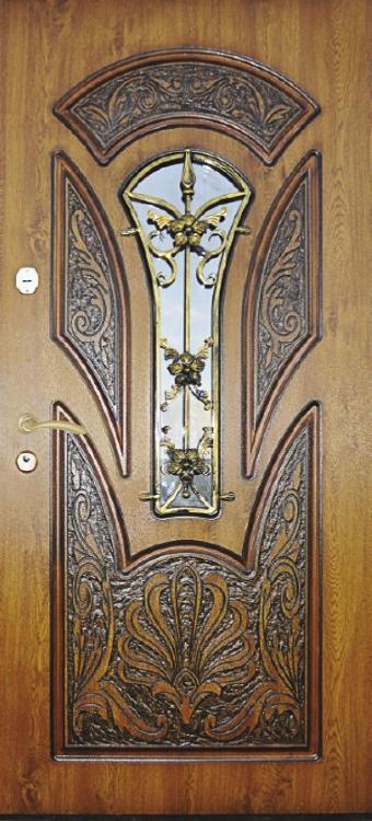 брооньовані двері56