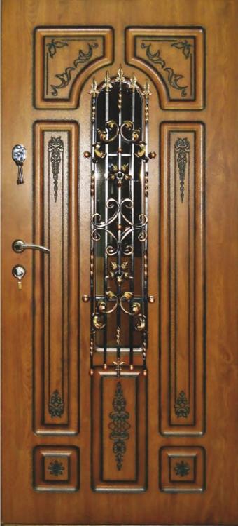 брооньовані двері58