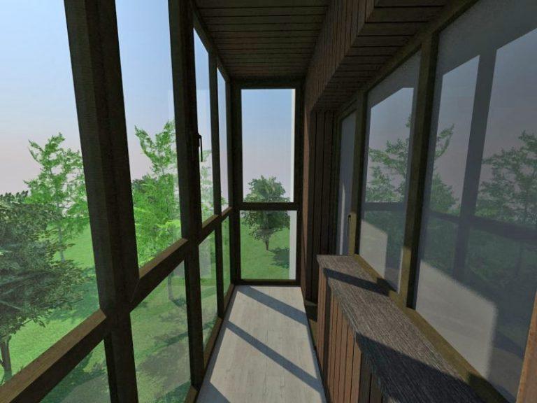 балкон під ключ івано-франківськ проект33